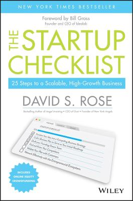 The Startup Checklist by David S. Rose