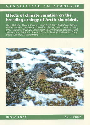Effects of Climate Variation on the Breeding Ecology of Arctic Shorebirds by Hans Meltofte