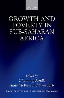 Growth and Poverty in Sub-Saharan Africa book
