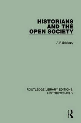 Historians and the Open Society book