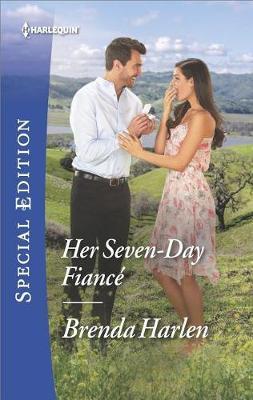 Her Seven-Day Fianc� by Brenda Harlen