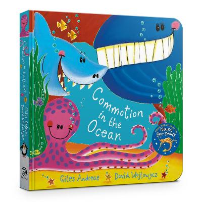 Commotion in the Ocean Board Book by Giles Andreae