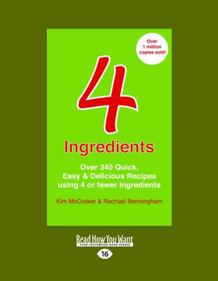 4 Ingredients by Kim McCosker