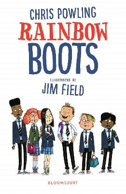 Rainbow Boots by Chris Powling
