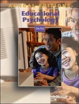 Educational Psychology: 2004-2005 by Kathleen Cauley