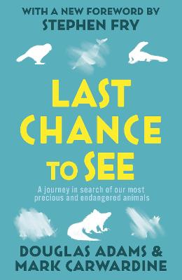 Last Chance To See book