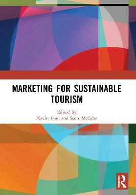 Marketing for Sustainable Tourism book