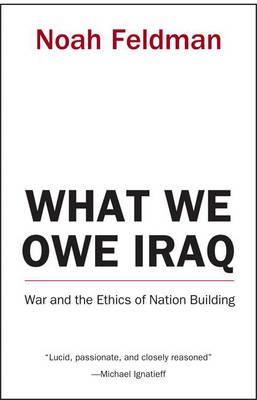 What We Owe Iraq book