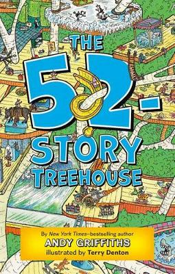 52-Story Treehouse book