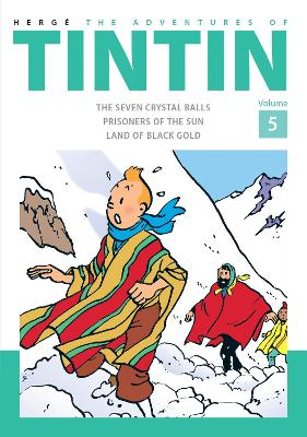 Adventures of Tintin Volume 5 book