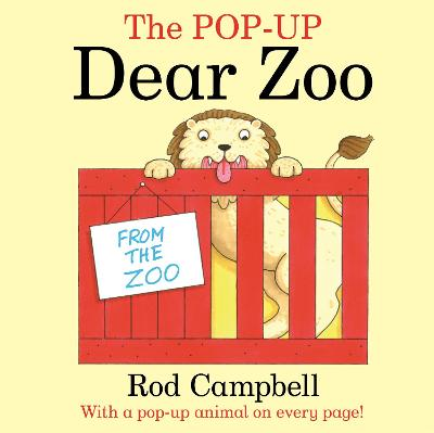 The Pop-Up Dear Zoo by Rod Campbell