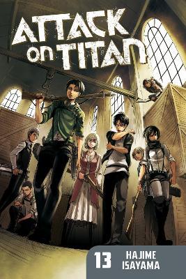Attack On Titan 13 book
