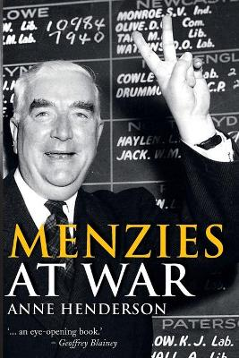 Menzies at War book