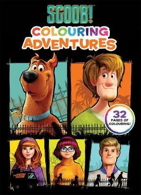 Scoob!: Colouring Adventures (Warner Bros) book