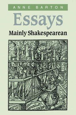 Essays, Mainly Shakespearean book