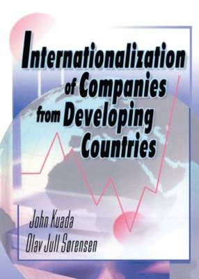 Internationalization of Companies from Developing Countries book