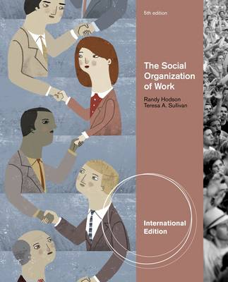 The Social Organization of Work, International Edition by Randy Hodson