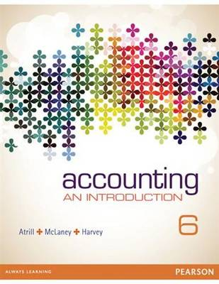 Accounting: An Introduction by Peter Atrill
