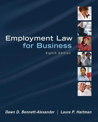 Employment Law for Business by Dawn Bennett-Alexander