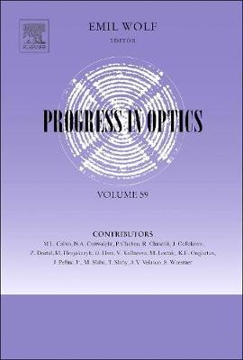 Progress in Optics by Emil Wolf
