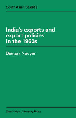 India's Exports and Export Policies in the 1960's book
