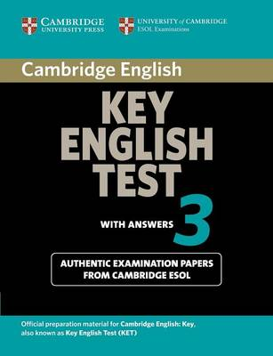 Cambridge Key English Test 3 Student's Book with Answers book