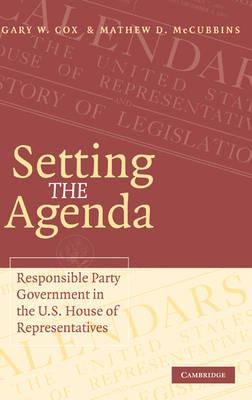 Setting the Agenda book