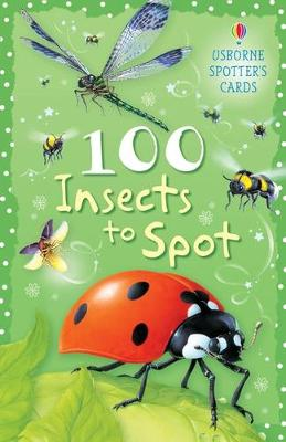 100 Insects to Spot Usborne Spotters Cards by Sarah Khan