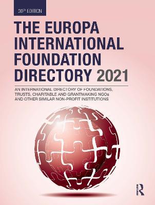 The Europa International Foundation Directory 2021 book