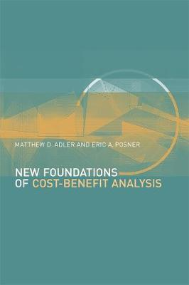 New Foundations of Cost-Benefit Analysis book