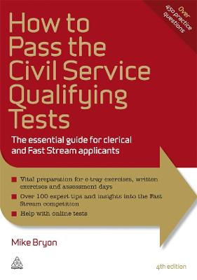 How to Pass the Civil Service Qualifying Tests by Mike Bryon
