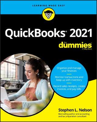 QuickBooks 2021 For Dummies by Stephen L. Nelson