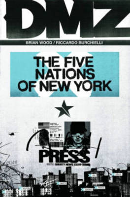 Dmz TP Vol 12 The Five Nations Of New York by Riccardo Burchielli