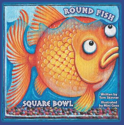 Round Fish Square Bowl by Tom Skinner