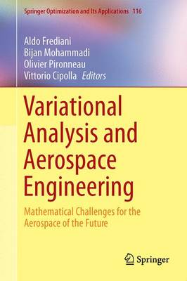 Variational Analysis and Aerospace Engineering by Olivier Pironneau