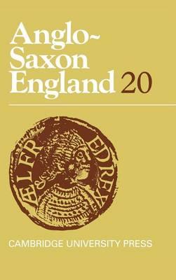 Anglo-Saxon England: Volume 20 by Professor Michael Lapidge