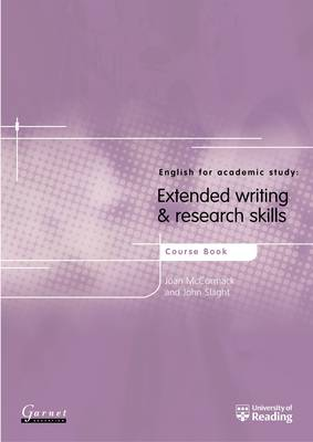 English for Academic Study: Extended Writing and Research Skills: Course Book by Joan McCormack