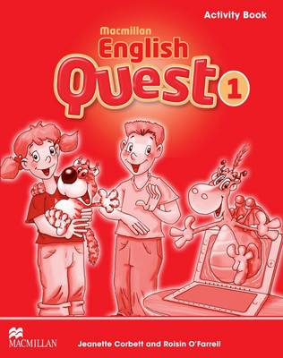 Macmillan English Quest Activity Book Level 1 Macmillan English Quest Level 1 Activity Book 1 by Jeanette Corbett
