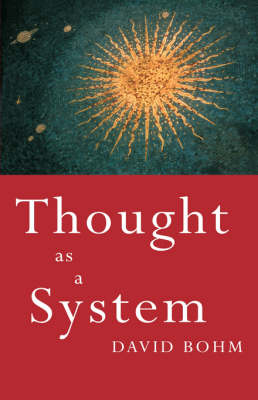 Thought as a System book