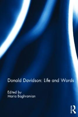 Donald Davidson: Life and Words book