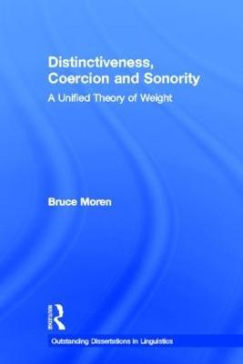 Distinctiveness, Coercion and Sonority book