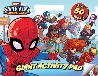 Marvel Superhero Adventures - Giant Activity Pad by
