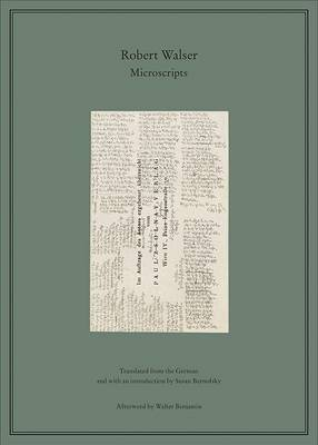 The Microscripts by Robert Walser