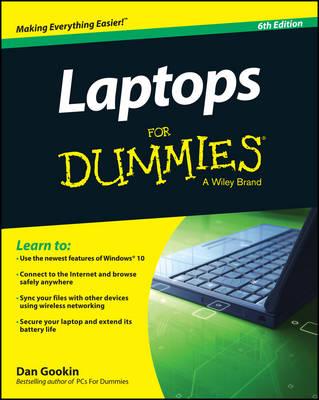 Laptops for Dummies, 6th Edition by Dan Gookin