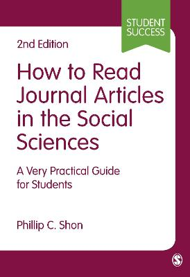 How to Read Journal Articles in the Social Sciences book