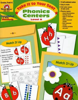 Phonics Centers Level A by Evan-Moor Educational Publishers