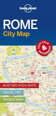 Lonely Planet Rome City Map by Lonely Planet