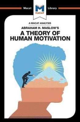 A Theory of Human Motivation by Stoyan Stoyanov