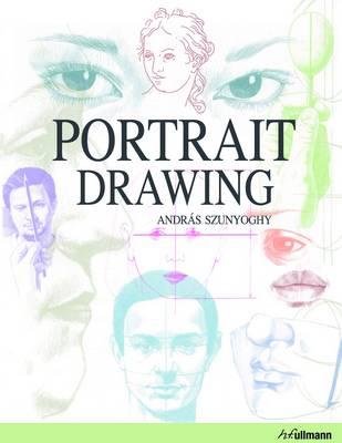 Portrait Drawing by Andras Szunyoghy