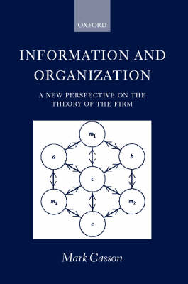 Information and Organization book
